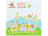 Block junior woo hoo dee!