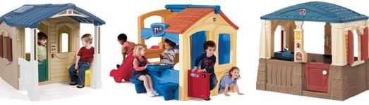 Dětské plastové domečky