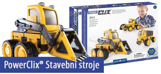 PowerClix® Stavební stroje